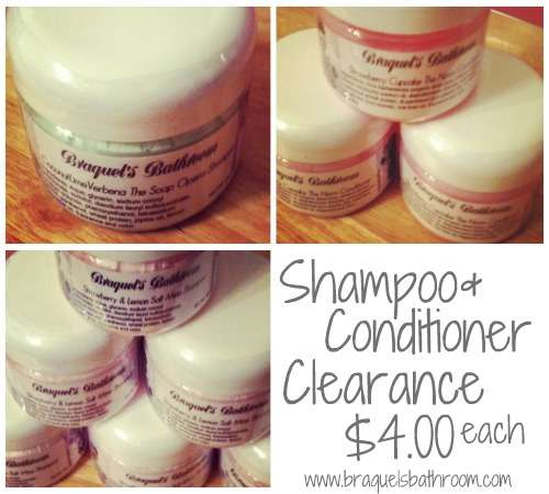 shampoo conditioner clearance