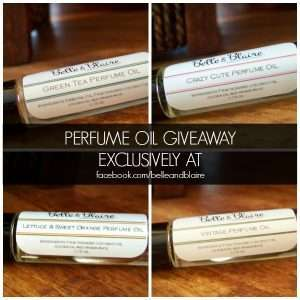perfume oil giveaway