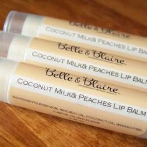 Coconut Milk & Peaches Lip Balm