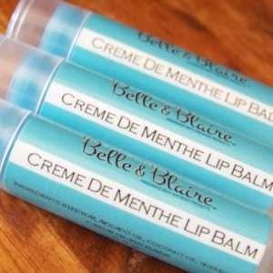 Crème de Menthe Lip Balm