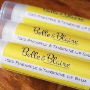 Iced Pineapple & Tangerine Lip Balm