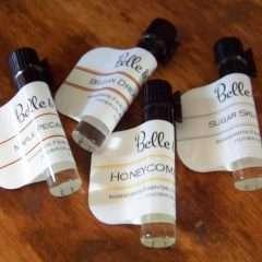 4 Perfume Oil Samples