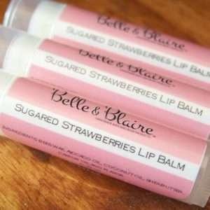 Sugared Strawberries Lip Balm