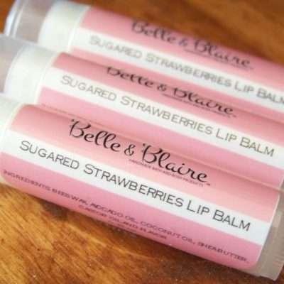 Sugared Strawberries Lip Balm