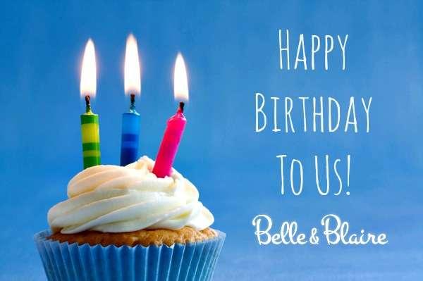 Happy Birthday To Us – Belle & Blaire Turns Three!