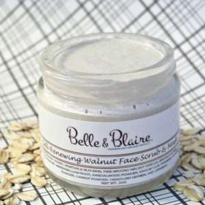Cell Renewing Walnut Face Scrub & Mask