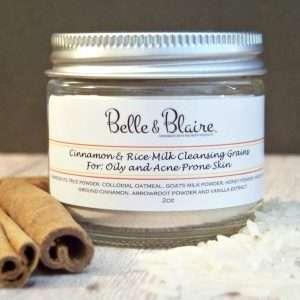 Cinnamon & Rice Milk Cleansing Grains