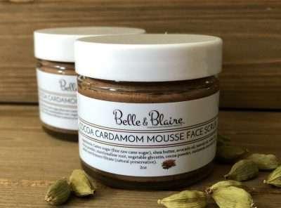 Cocoa Cardamom Mousse Face Scrub