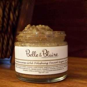 Frankincense Gold Polishing Facial Sugar Scrub