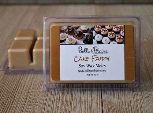Cake Fairy Soy Wax Melts 3 New