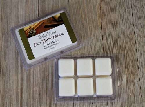 Old Paperback Soy Wax Melts 2 New