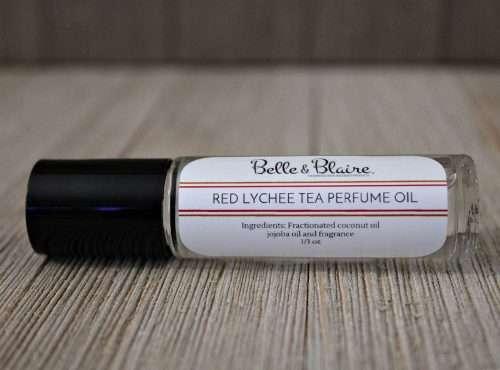 Red Lychee Tea Perfume Oil New