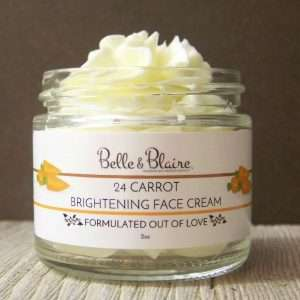 24 Carrot Brightening Face Cream