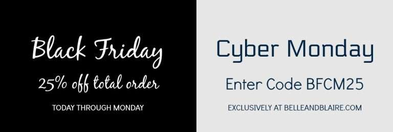 Black Friday Cyber Monday Sale 2017 – 25% Off!