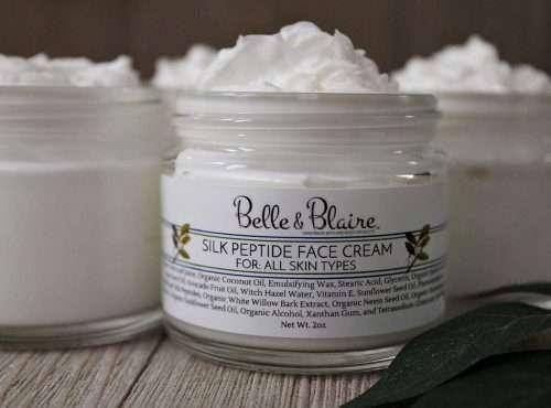 Silk Peptide Face Cream New