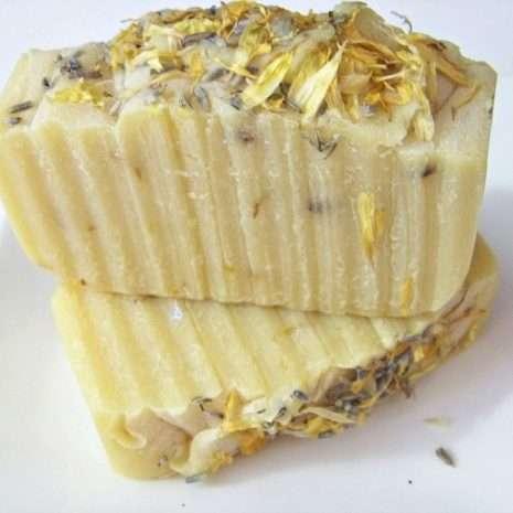 Lemon Cedarwood Amber Cold Process Soap