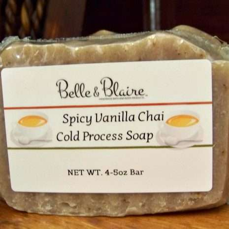 Spicy Vanilla Chai Cold Process Soap