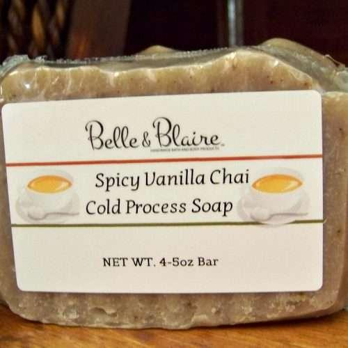 Spicy Vanilla Chai Cold Process Soap