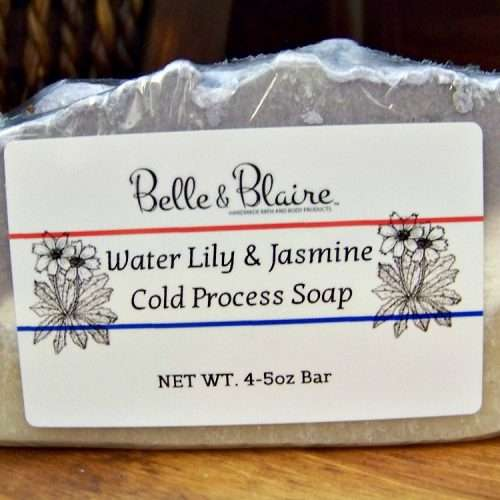 Water Lily & Jasmine Cold Process Soap