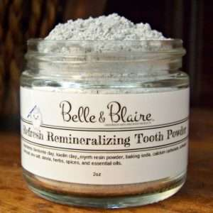 Refresh Remineralizing Tooth Powder