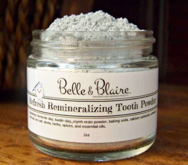 New Product: Refresh Remineralizing Tooth Powder