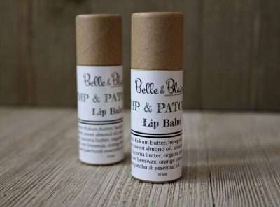 Hemp & Patchouli Lip Balm