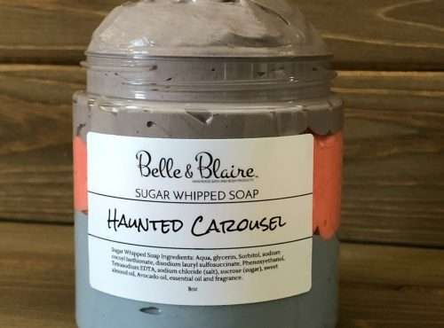 Haunted Carousel Sugar Whipped Soap