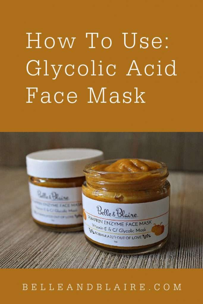 How to Use: Glycolic Acid Face Mask