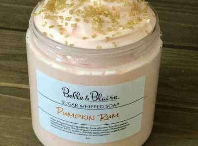 Pumpkin Rum Sugar Whipped Soap