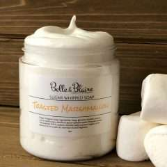 Toasted Marshmallow Sugar Whipped Soap
