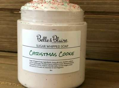 Christmas Cookie Sugar Whipped Soap