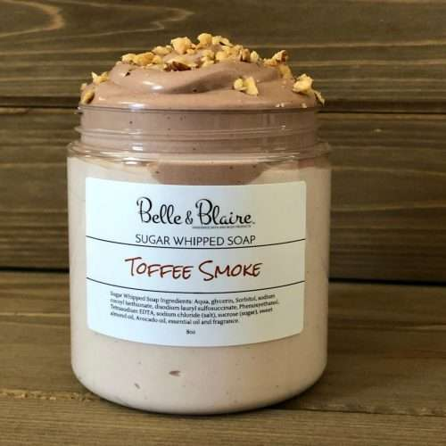 Toffee Smoke Sugar Whipped Soap